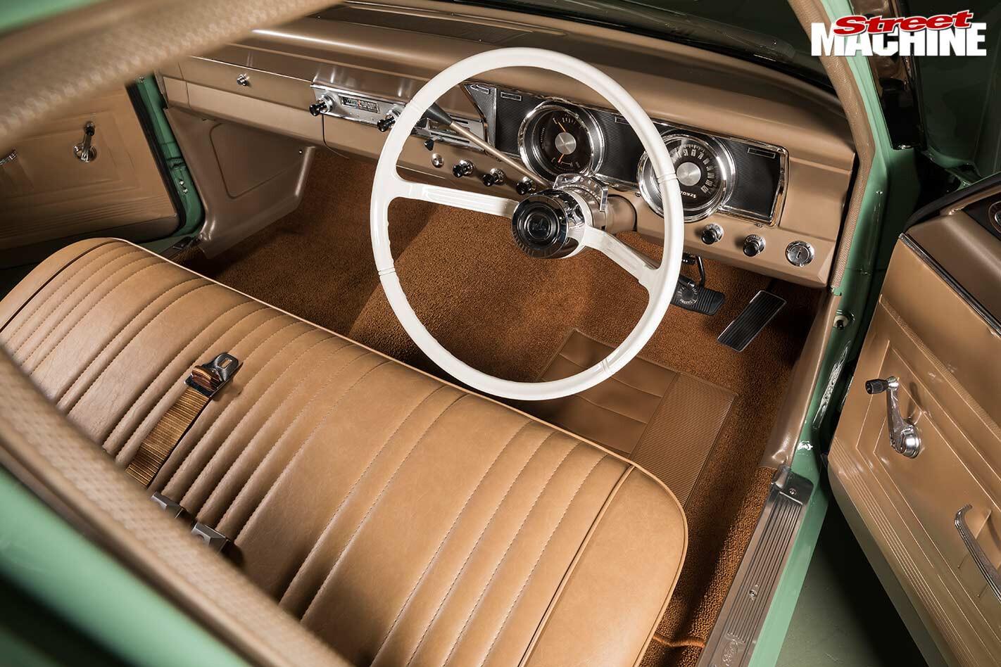 Ford Falcon XR ute interior