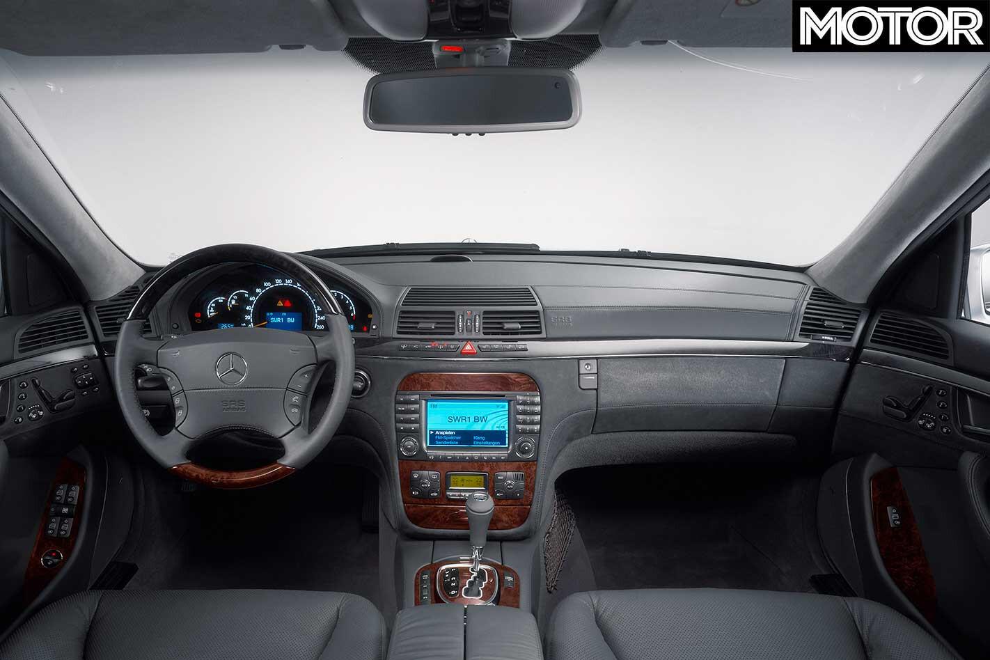 2003 Mercedes-Benz S600L interior