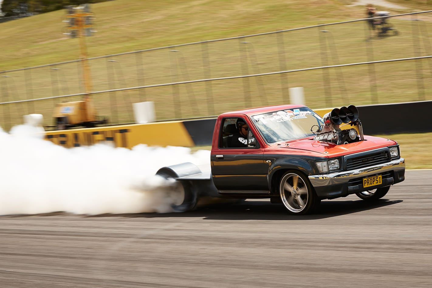 Dave Pendlebury HiLux at Powercruise