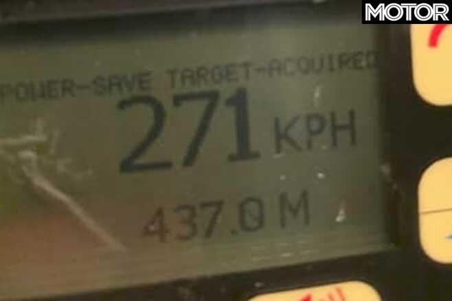 Dodge Challenger Hellcat Police Speed Readout Jpg