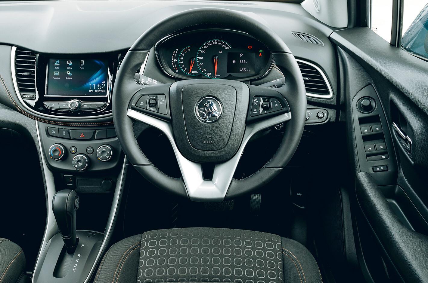 2020 Holden Trax interior