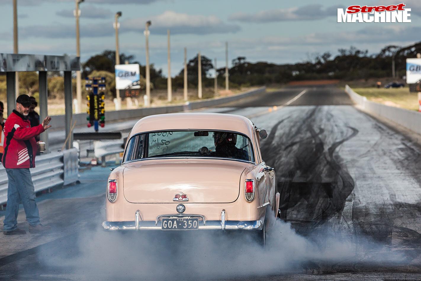 Chev-powered Holden FE