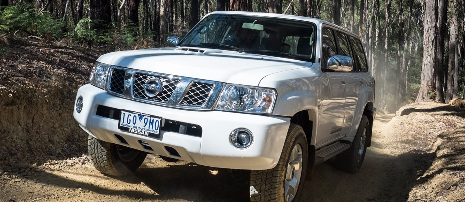 Nissan Patrol ST Review
