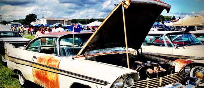 HELD each year at the Carlisle Fairgrounds in Carlisle, Pennsylvania, the All-Chrysler Nationals are a mecca for Mopar fans, with over 2400 cars in attendance.