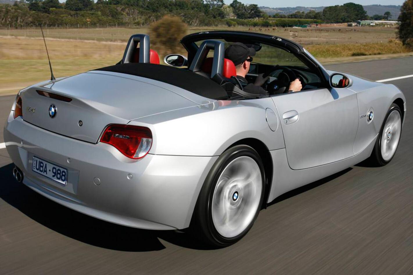BMW Z4 3.0 rear