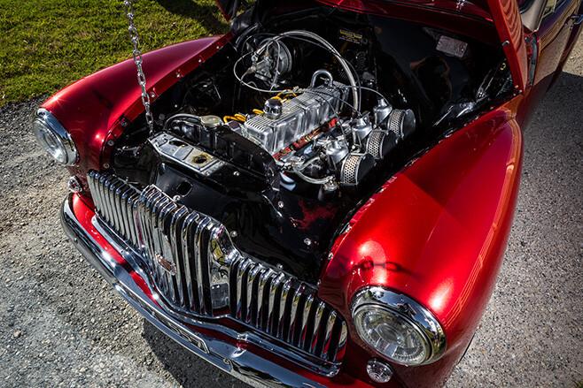1951 FX Holden Engine Bay