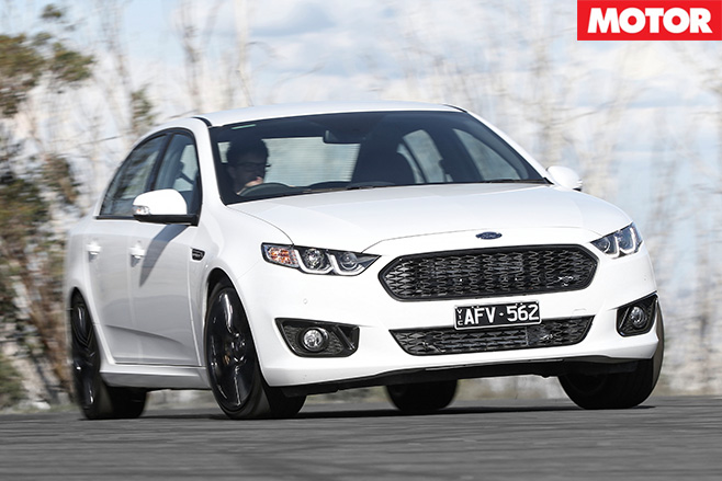 Ford Falcon XR6 Sprint front driving