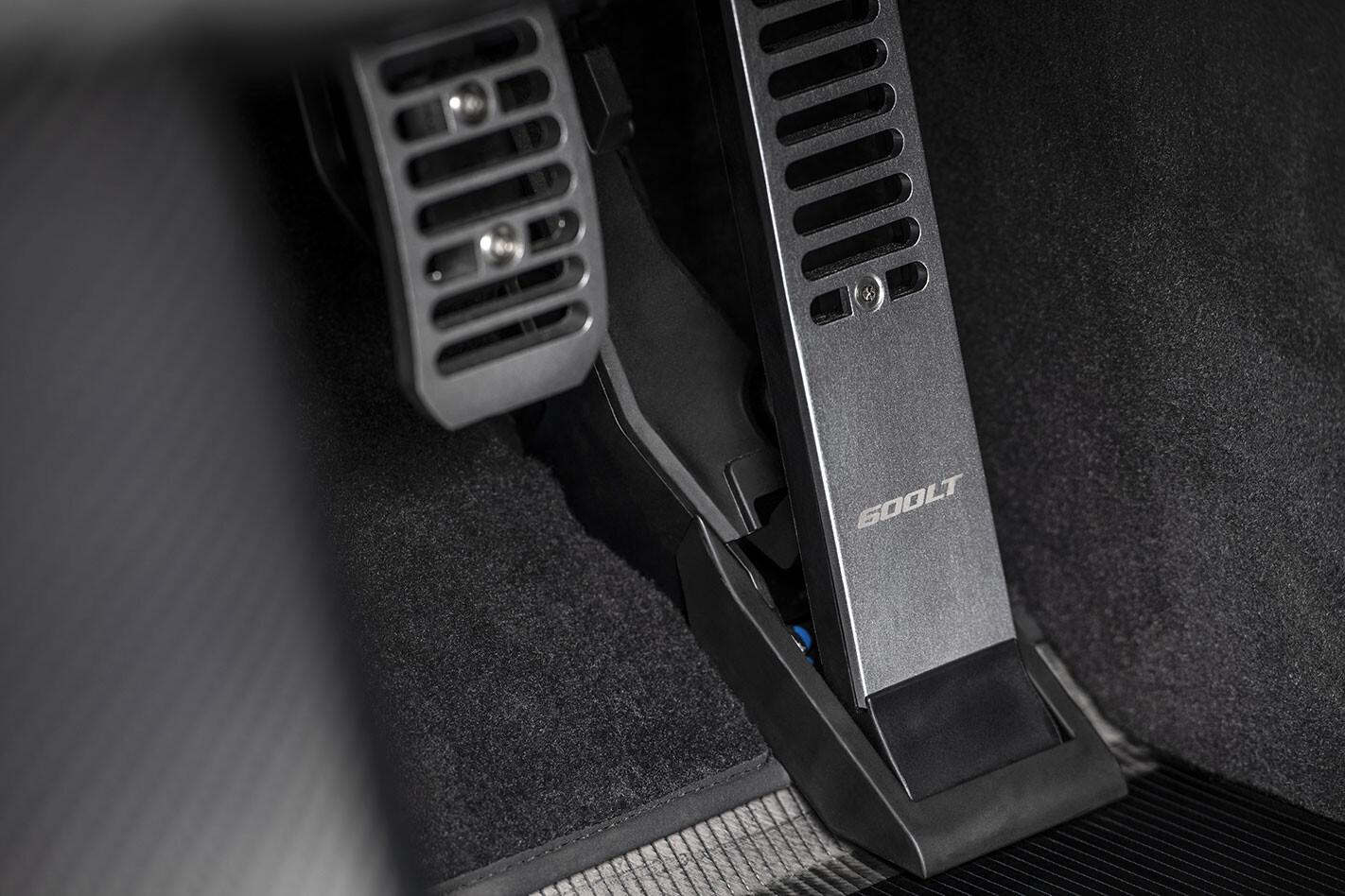 McLaren 600LT MSO pedals