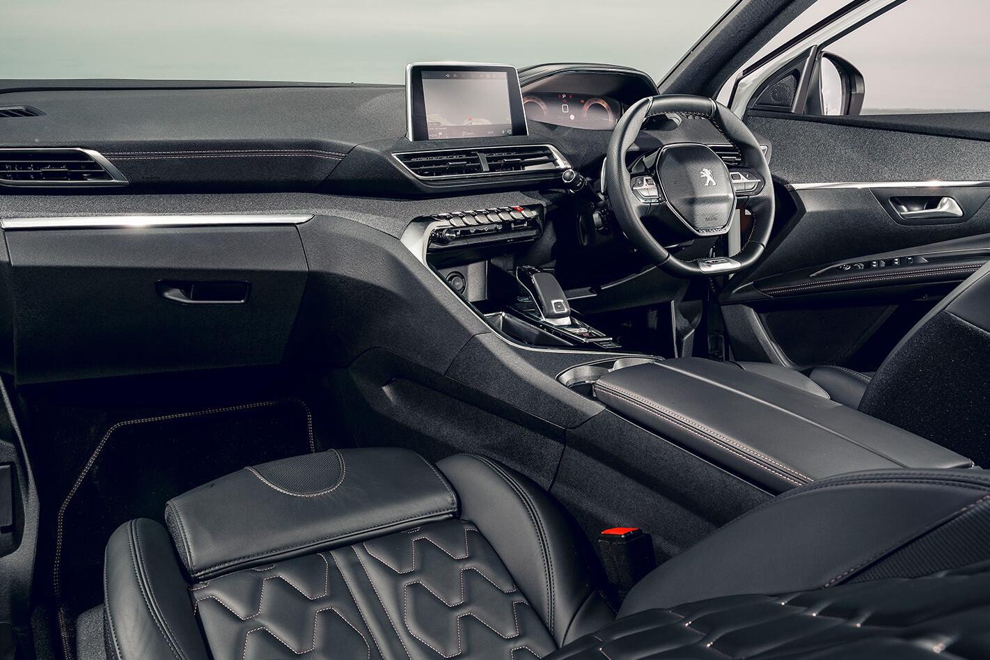 Skoda Mazda Peugeot Comparison Skoda Interior Jpg