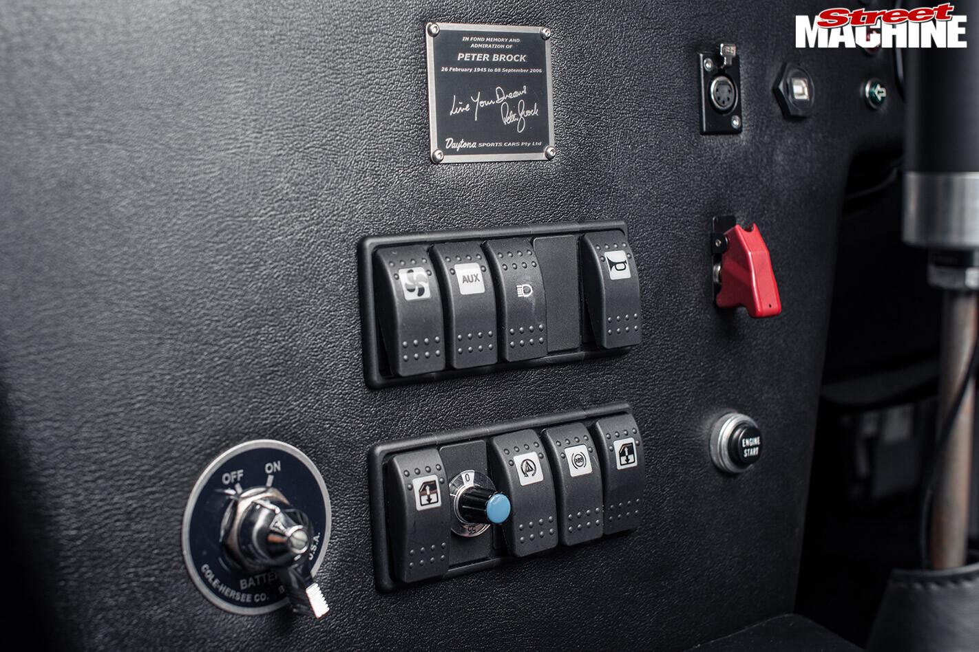 Daytona replica switches