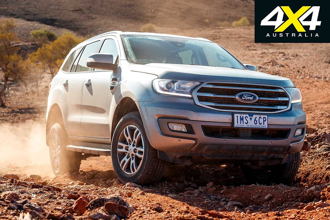 2019 4 X 4 Of The Year Ford Everest Trend Trail Driving Jpg