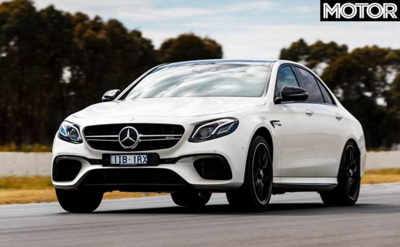 Top fastest cars tested MOTOR Magazine 2018 Mercedes-AMG E63 S