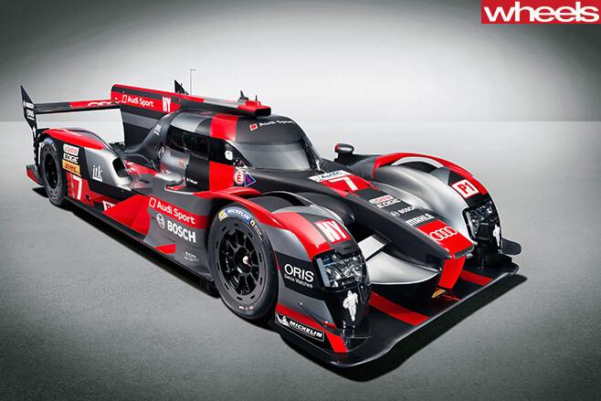 Audi -R18-LMP1-car -side