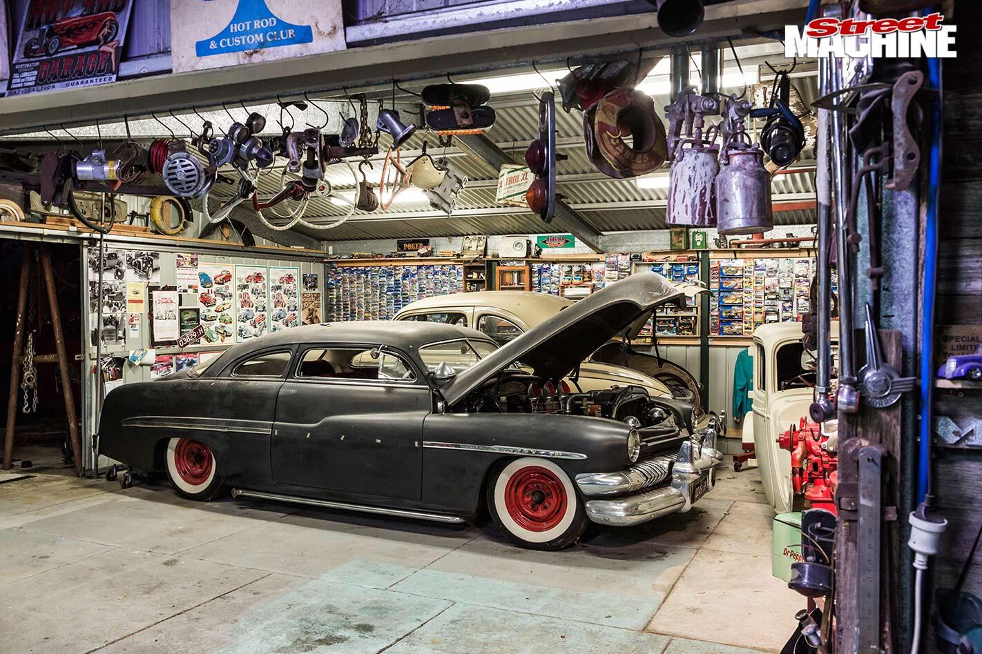 Peter's garage