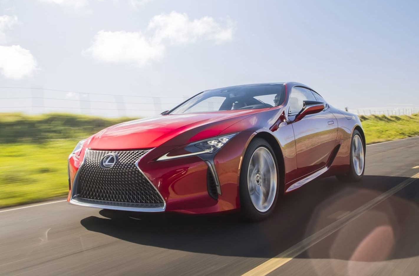2020 Lexus LC coupe updated