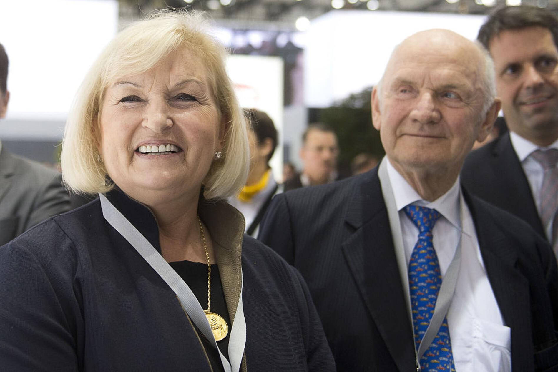 Ferdinand Piech and wife Ursula