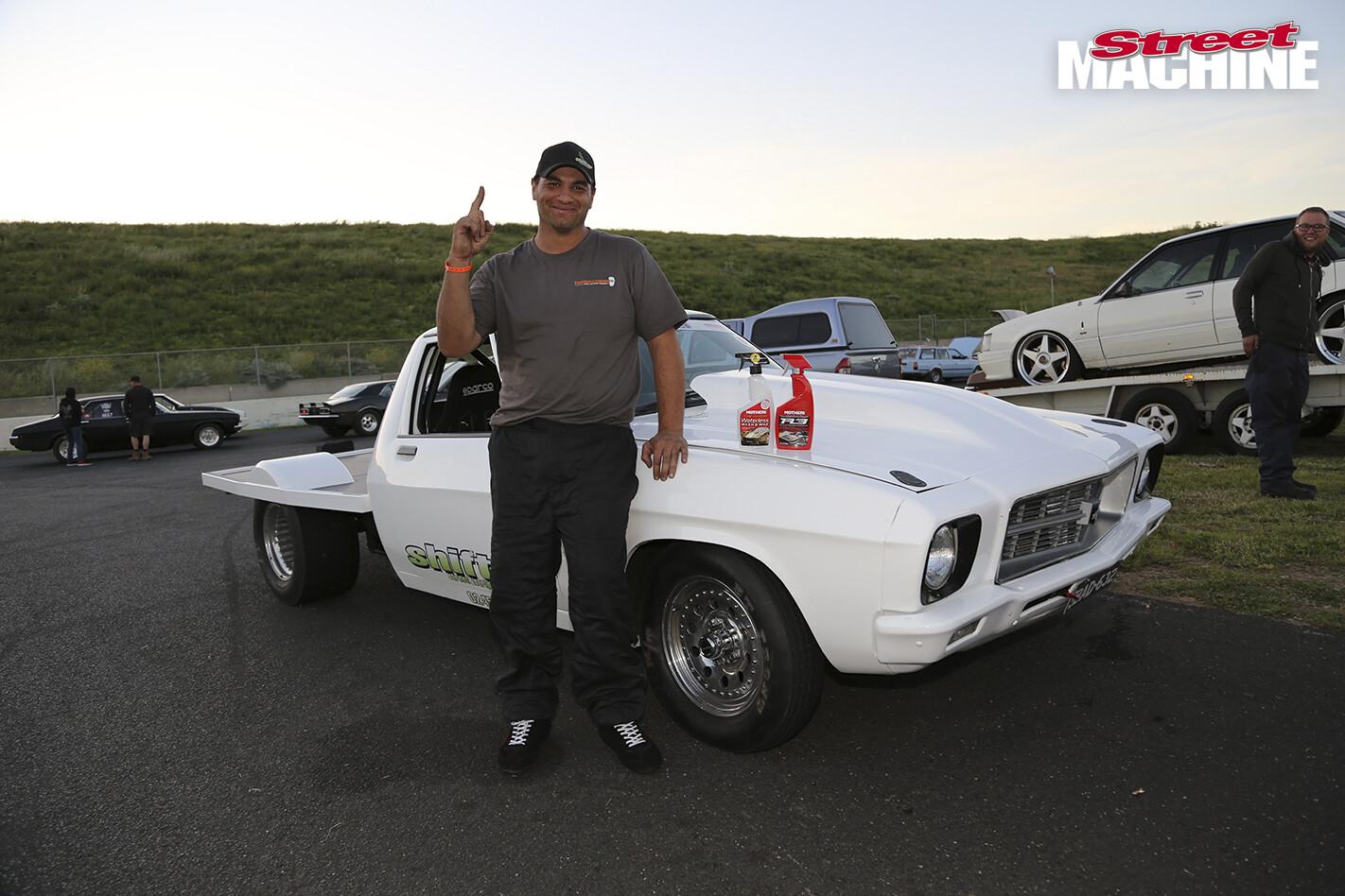 HQ Holden Tonner Drag Challenge