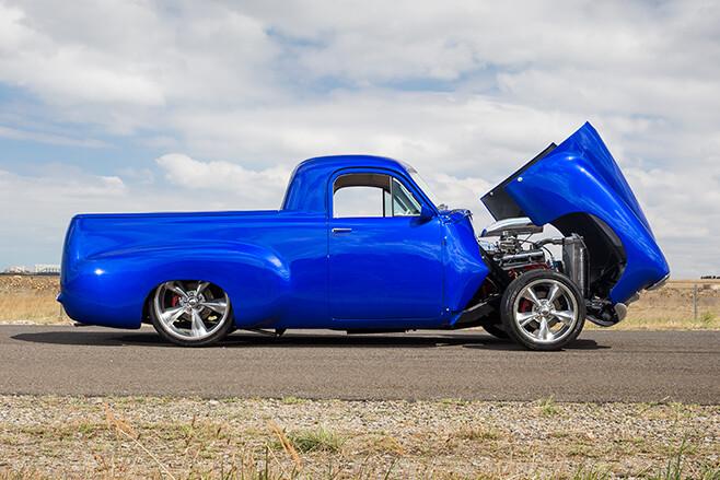 Holden FJ ute side