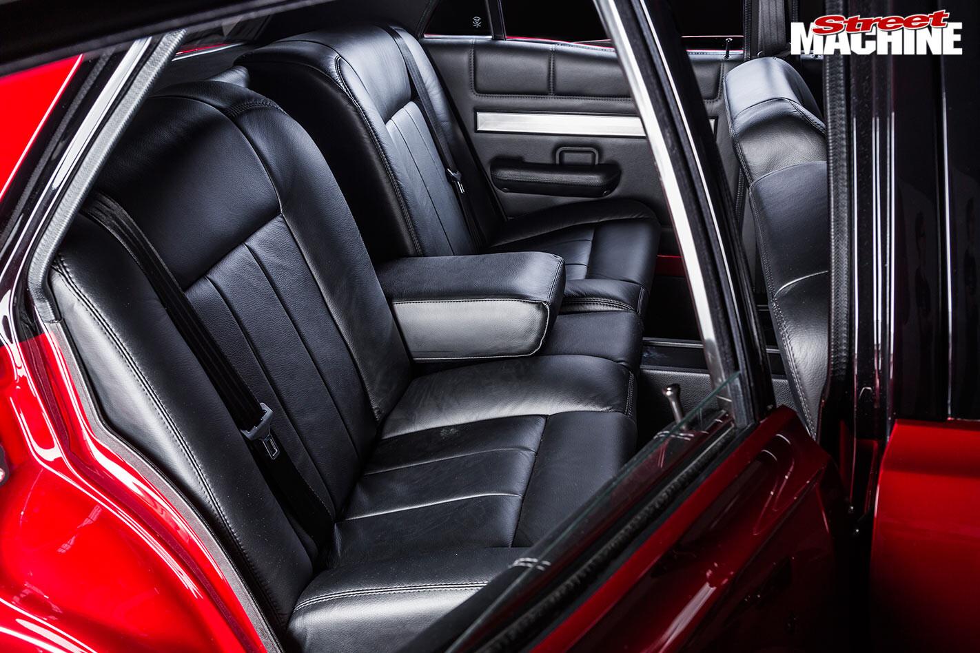 Ford Falcon XY rear seats