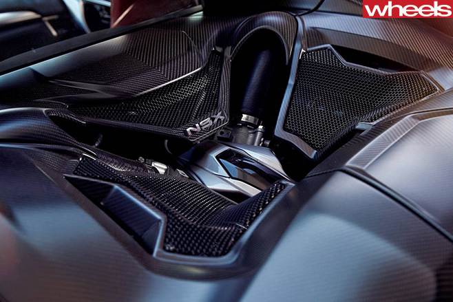 Honda -NSX-engine -ventilation