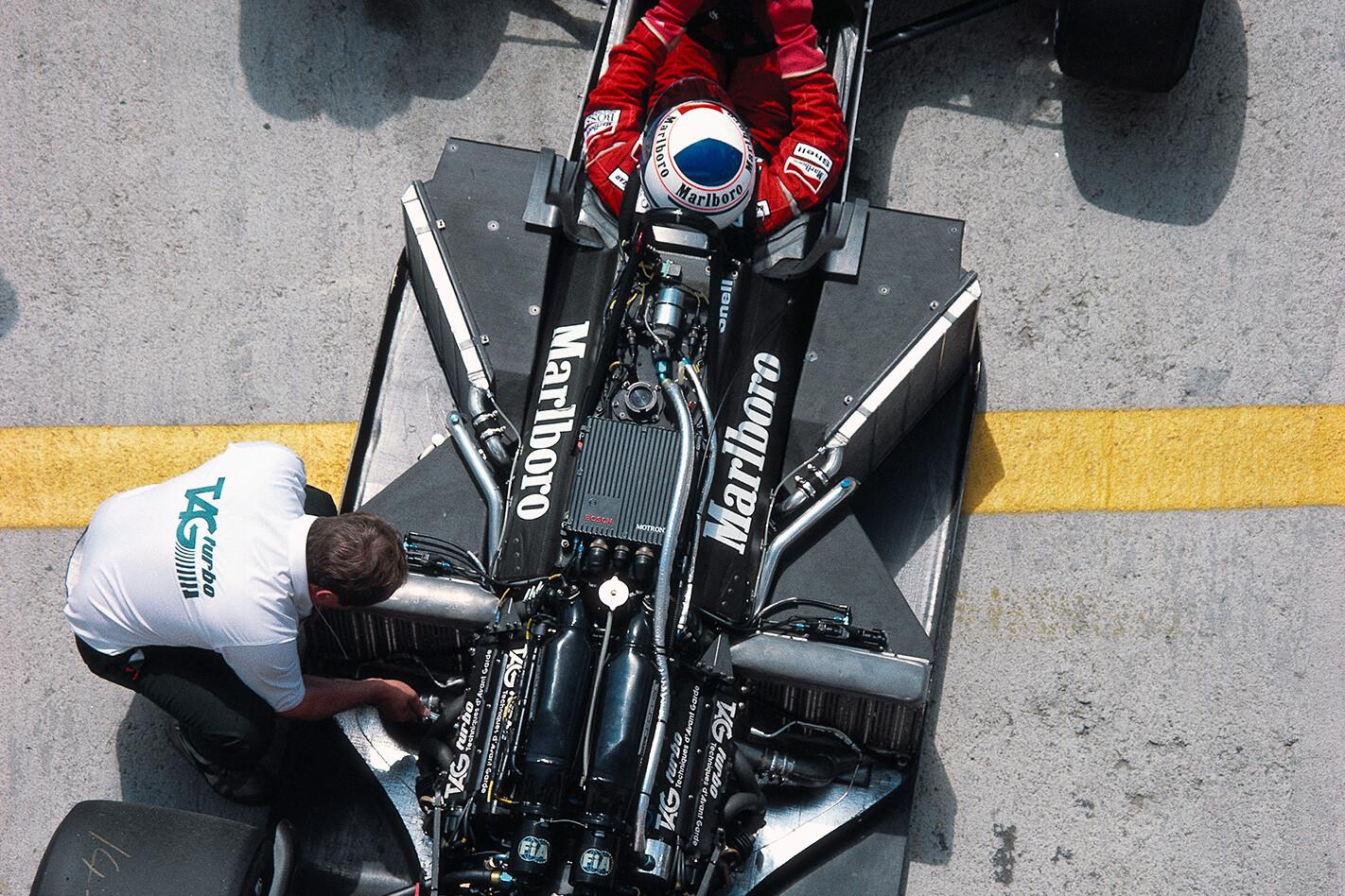 F1 car engine