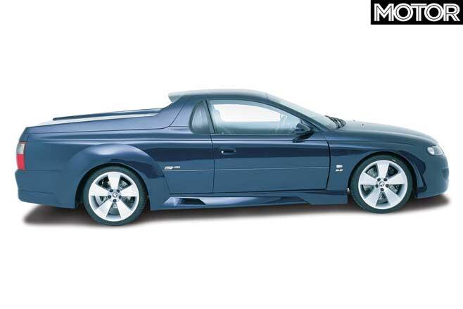 2001 HRT Edition Maloo Concept Side Profile Jpg