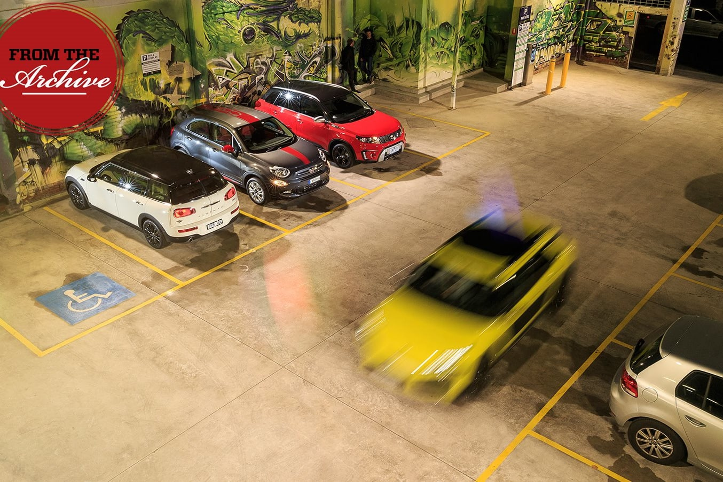 Citroen Cactus vs FIAT 500X vs Mini Clubman vs Suzuki Vitara