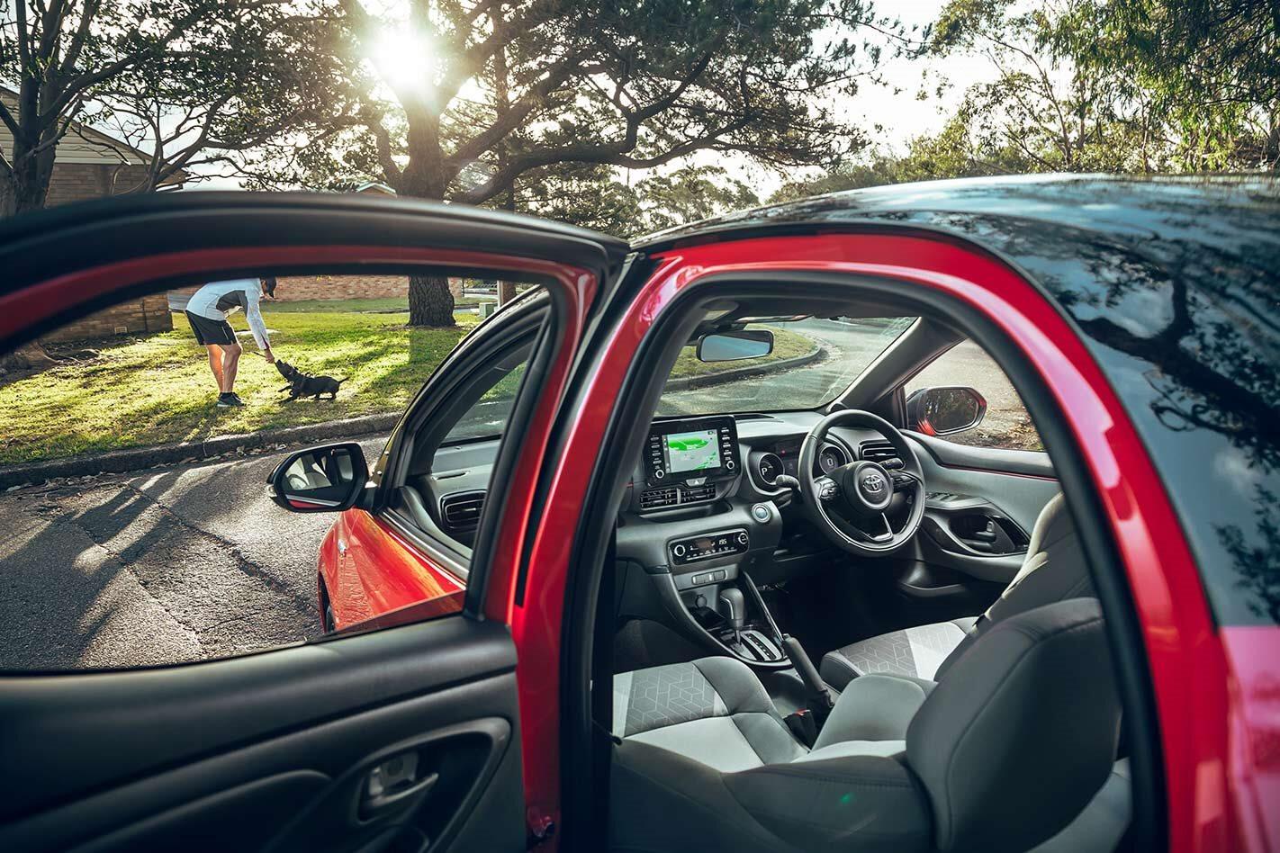 Toyota Yaris Interior Jpg