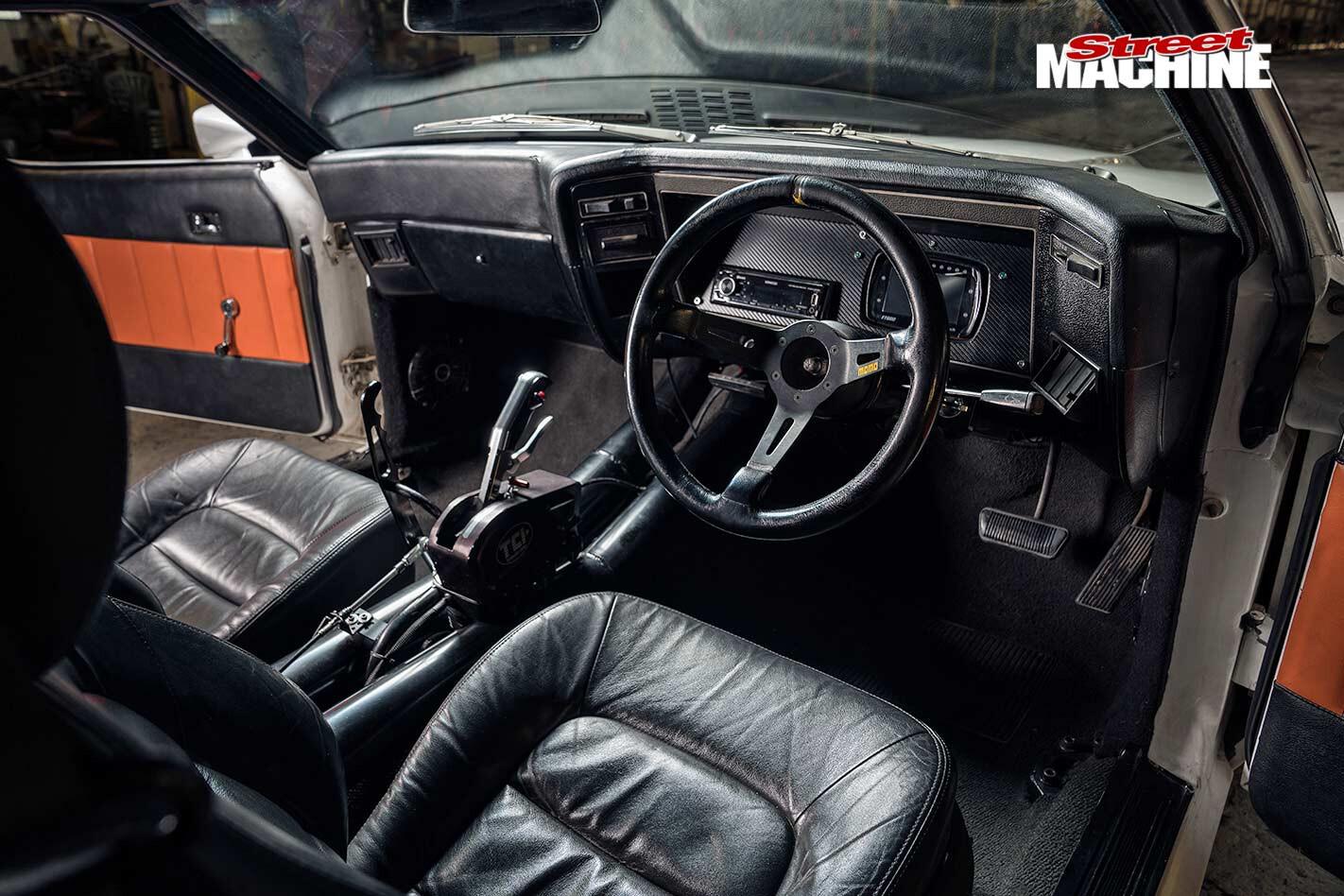 Ford Falcon XB interior
