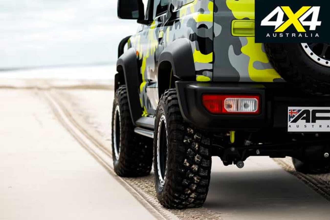 AFN 4 X 4 Suzuki Jimny Ride Height Jpg