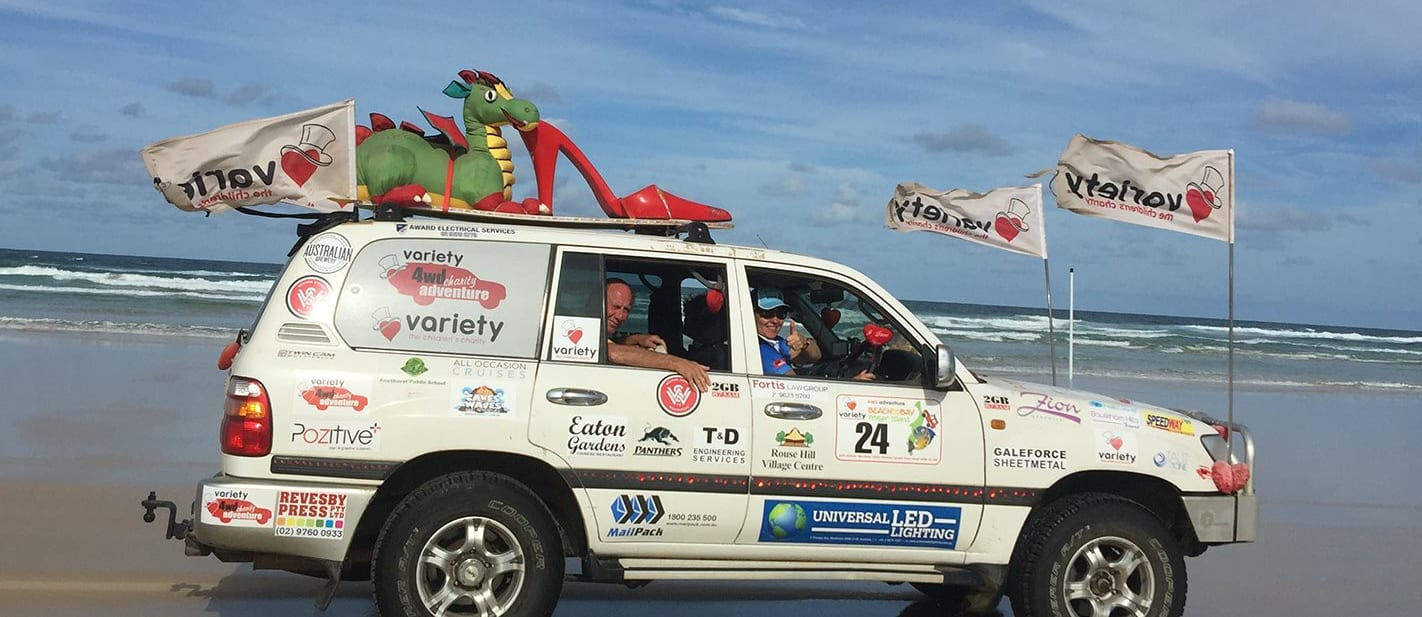 2017 Variety 4WD Charity Adventure