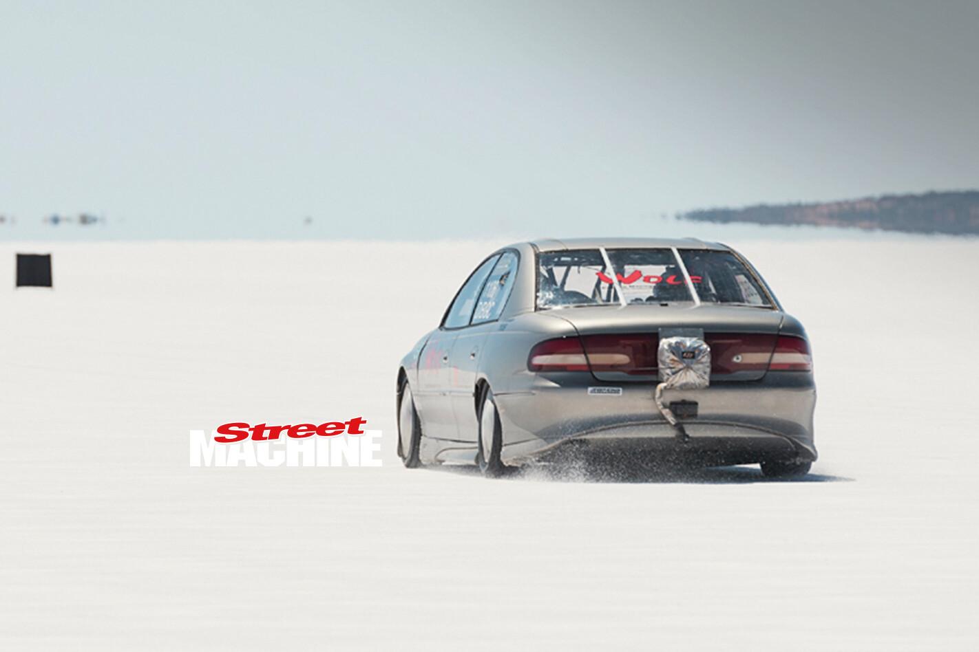 Salt Flat Racing Commodore