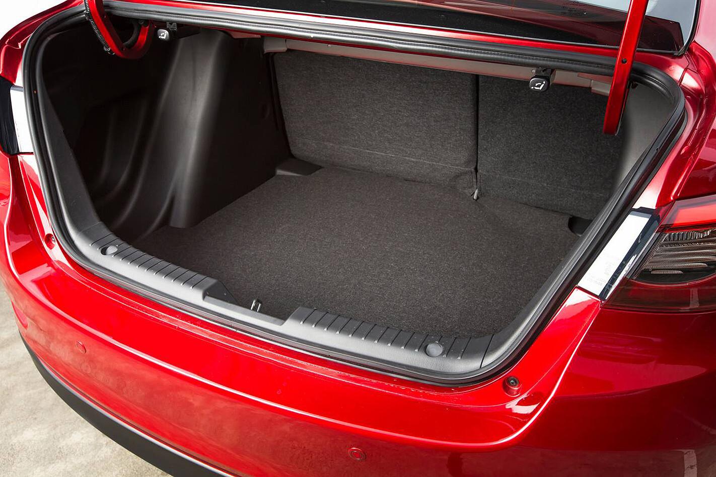 Mazda 2 sedan boot