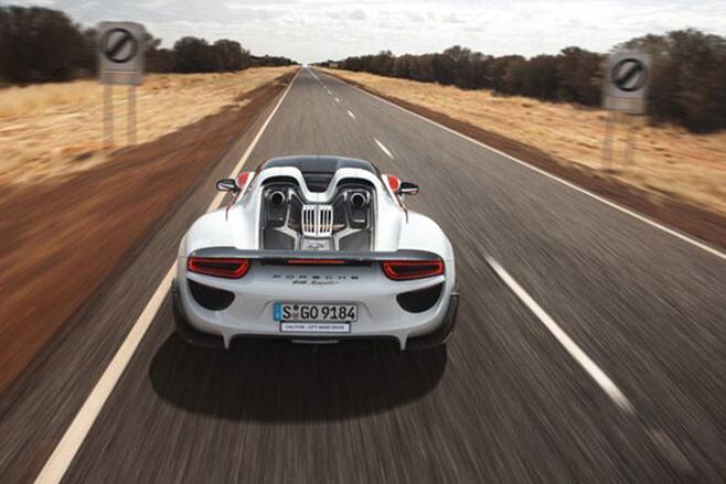 Porsche 918 Spyder Northern Territory