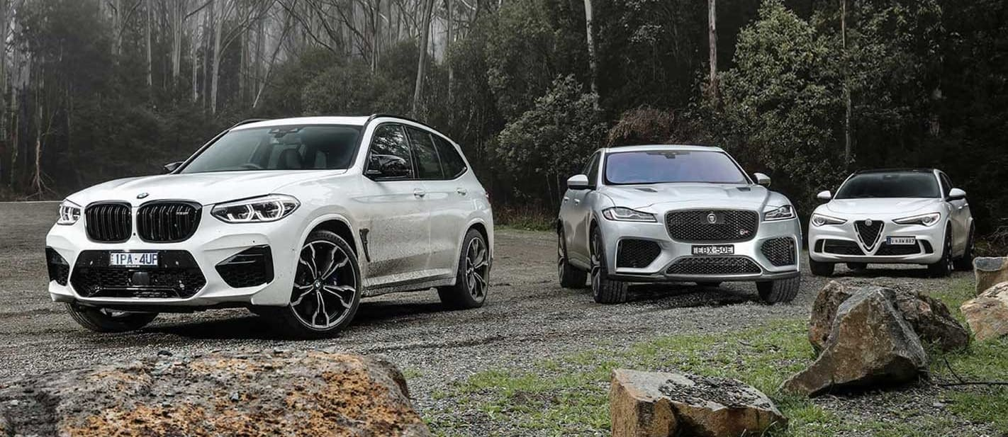 Mid-size performance SUVs sales VFACTS March