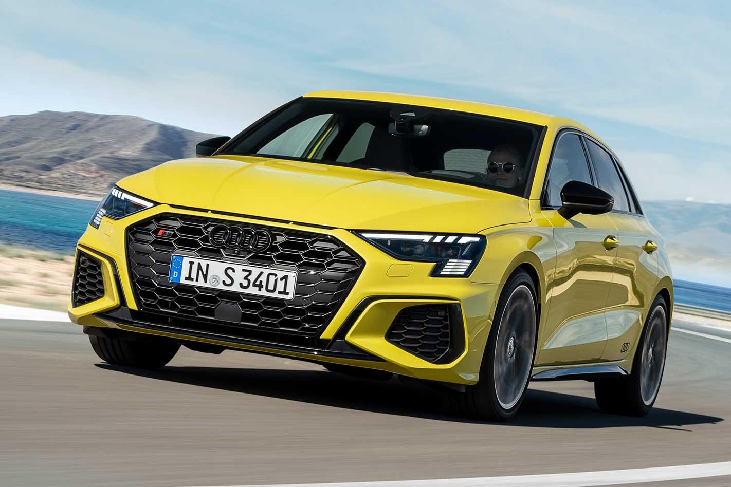 2021 Audi S3 Sportback driving