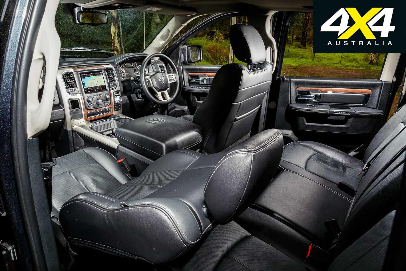 2018 RAM 1500 Laramie Interior Jpg