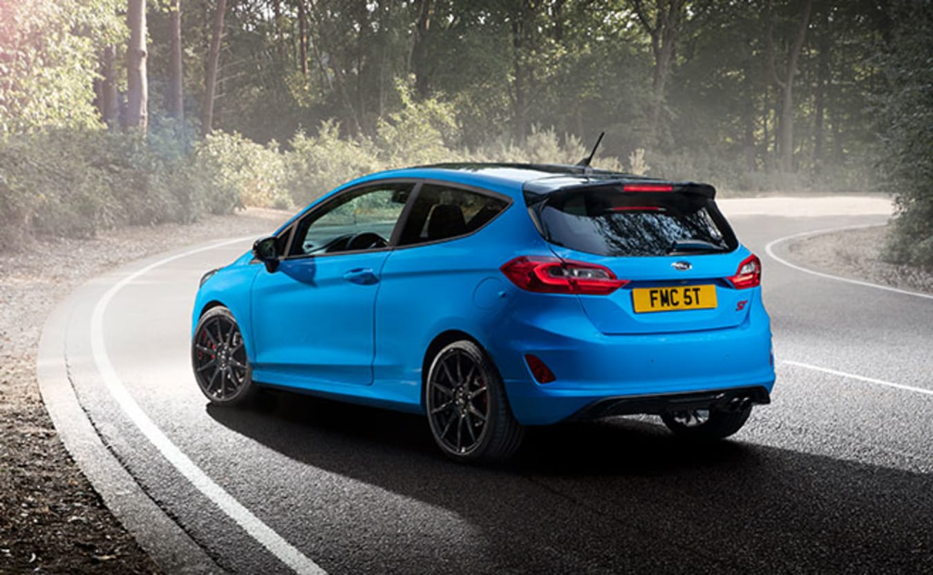Ford Fiesta ST Edition rear