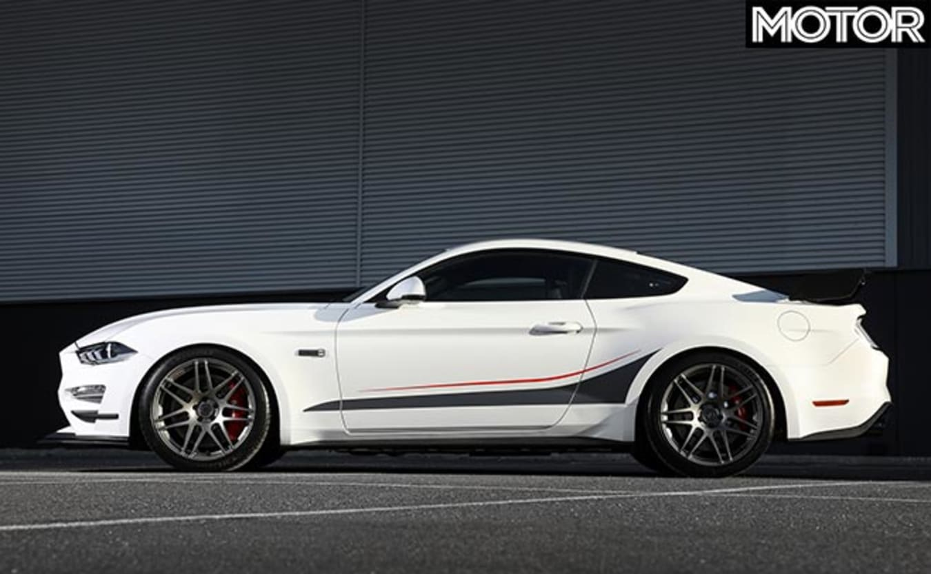 Mustang Dick Johnson Limited Edition side