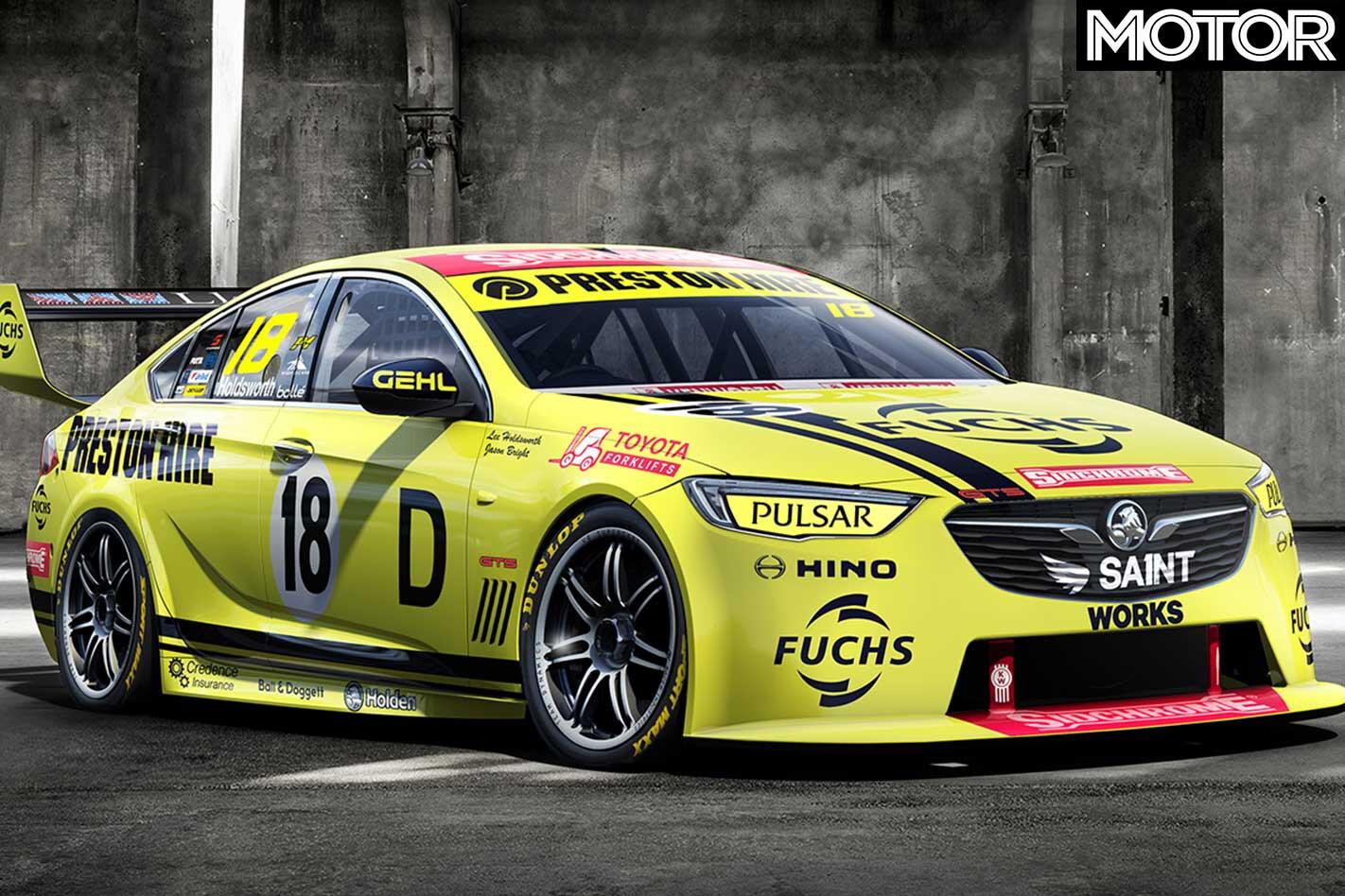 Preston Hire Racing Livery Jpg