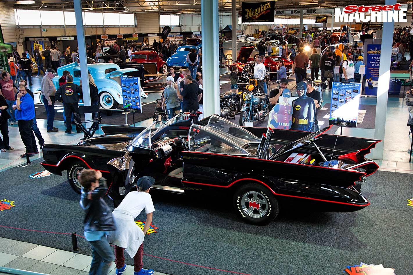 Batmobile at WA Hot Rod Spectacular