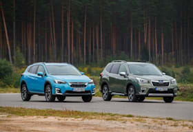 Subaru XV and Forester Hybrid