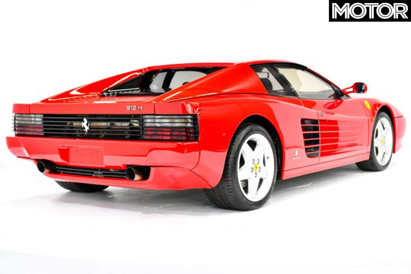 Gosford Classic Cars Auction Ferrari Testarossa Rear Jpg