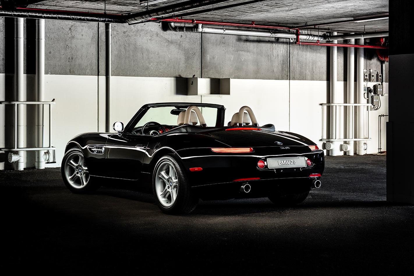 BMW Z8 rear angle