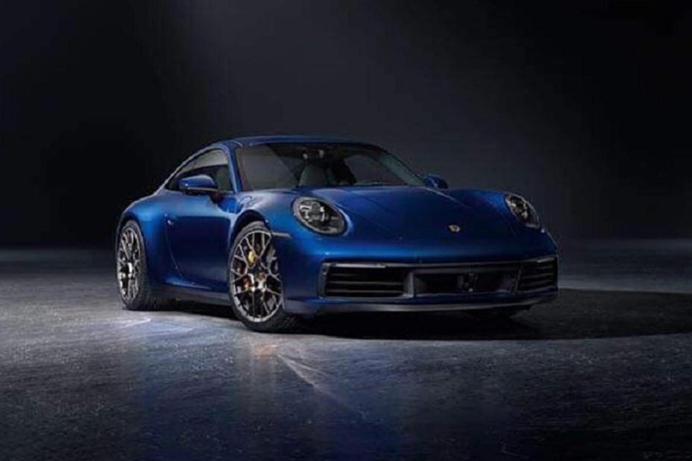 Porsche 992 Front Jpg