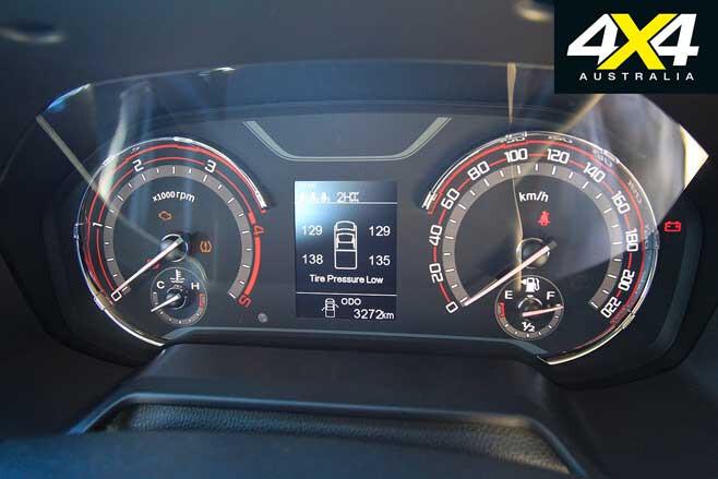 2019 LDV T 60 Trailrider Tyre Pressure Monitor Jpg