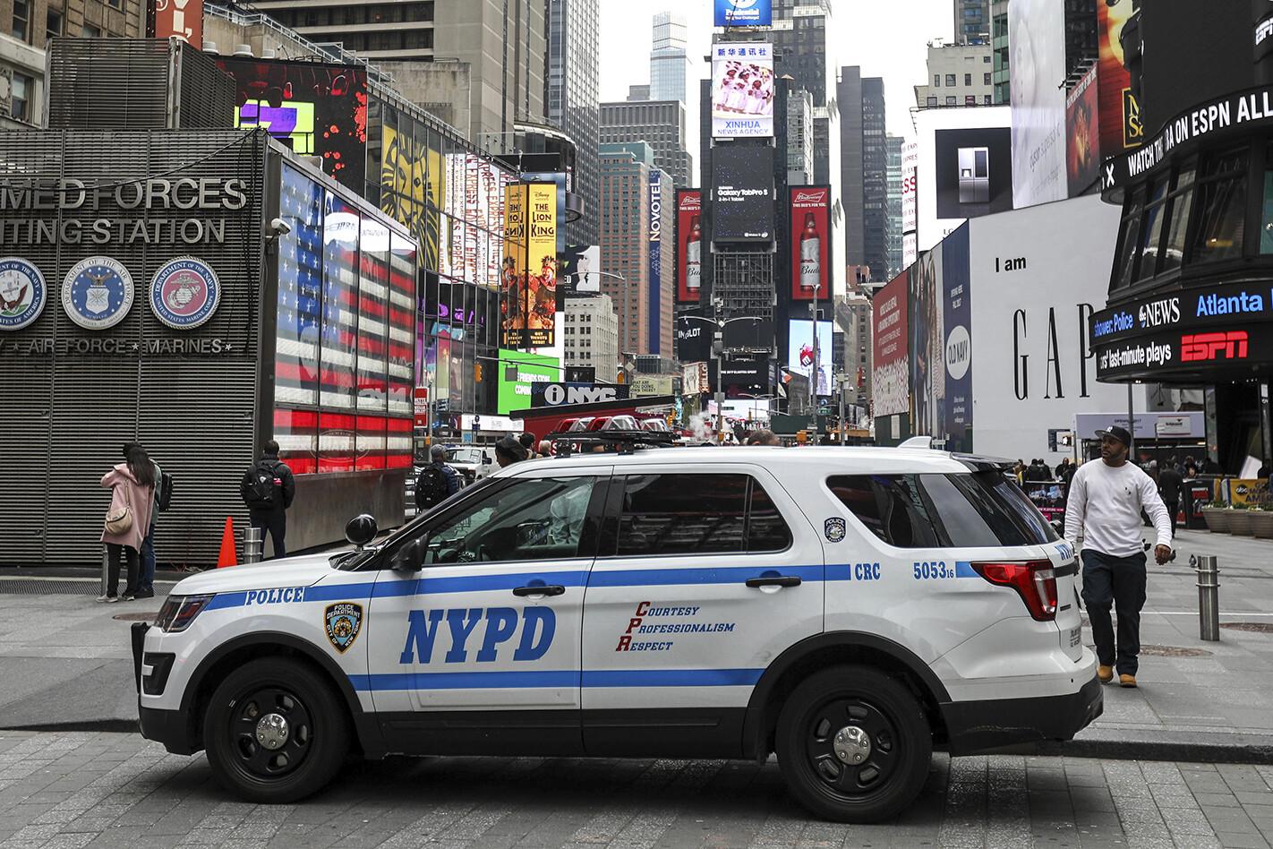 NYPD SUV