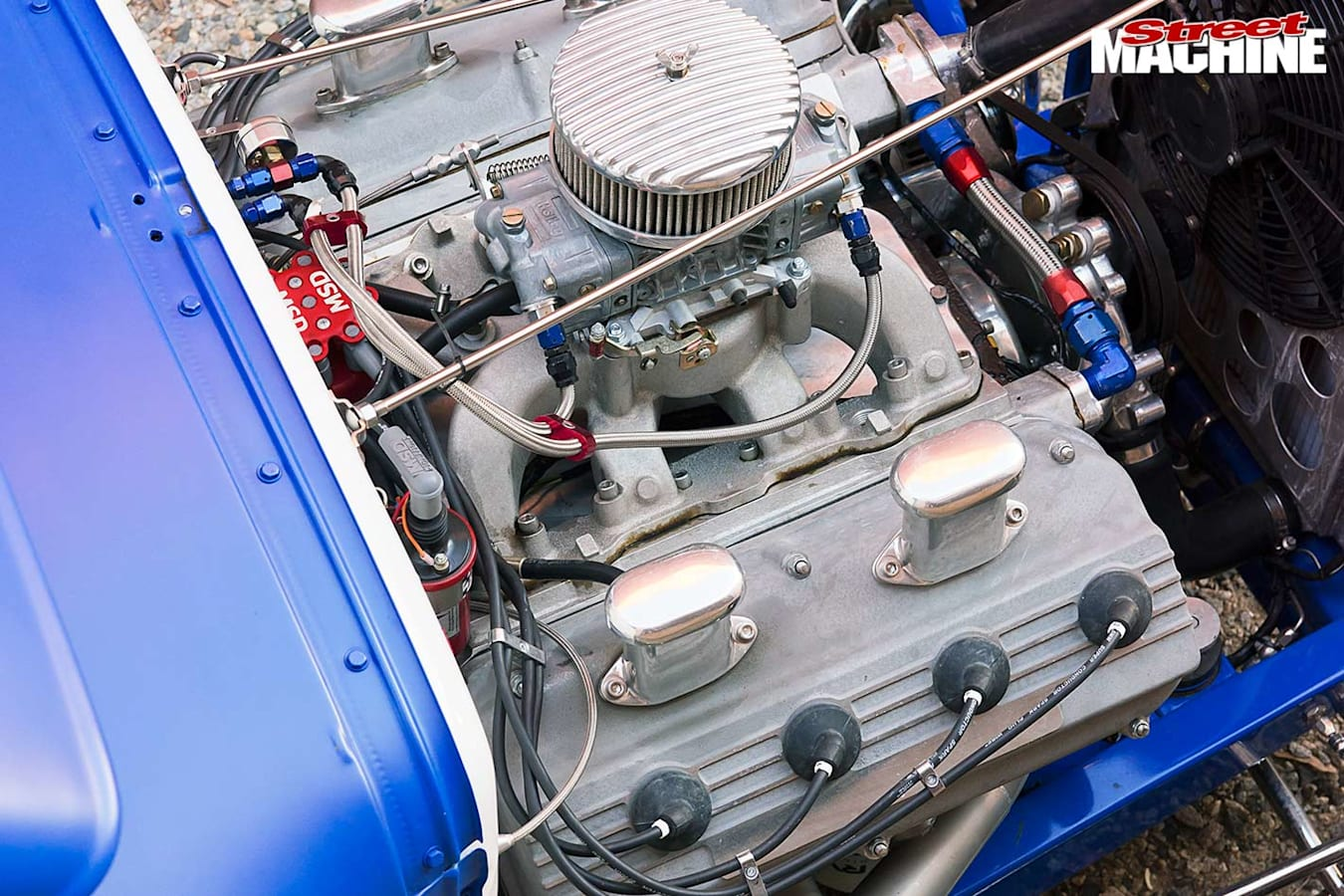 1930 Ford coupe engine