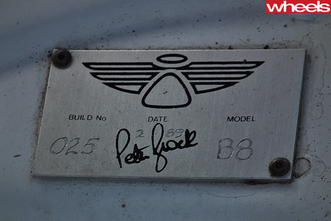 Peter -Brock -B8-Model -Ford