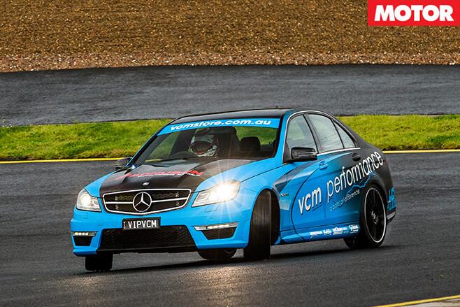 VCM Performance Mercedes-AMG C63 driving